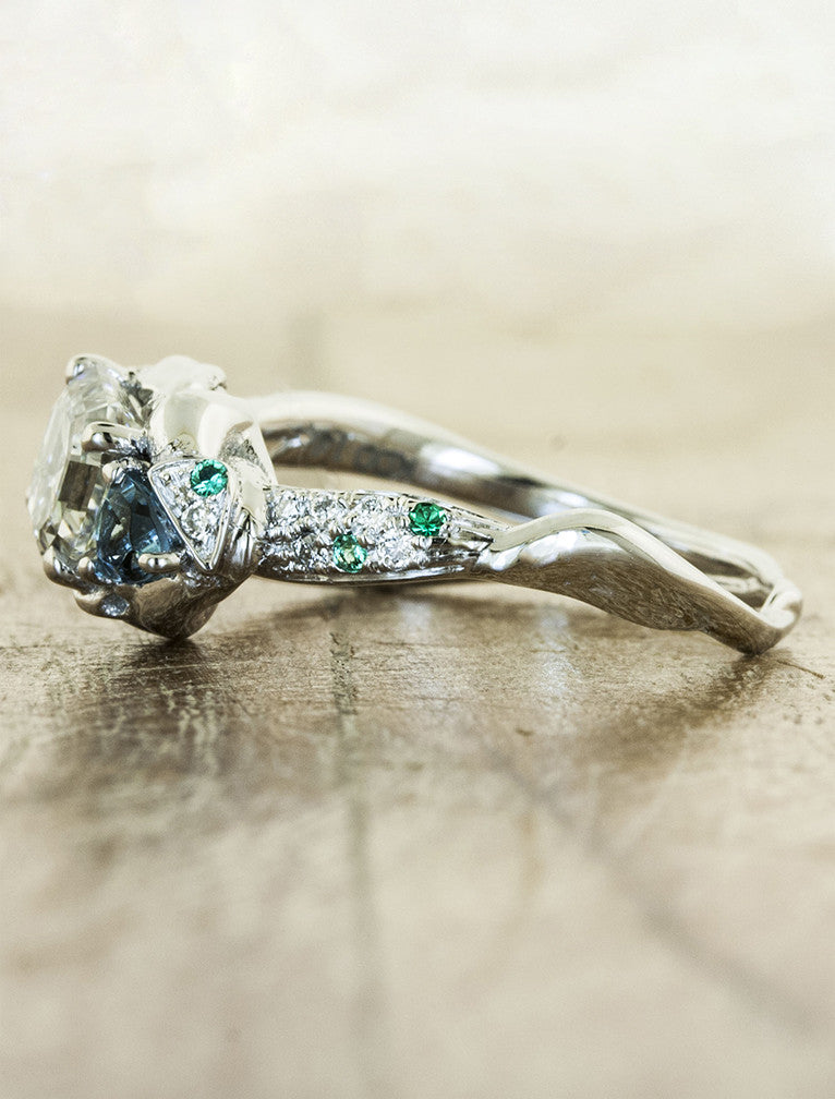 valerie - Nature Inspired Wedding Rings