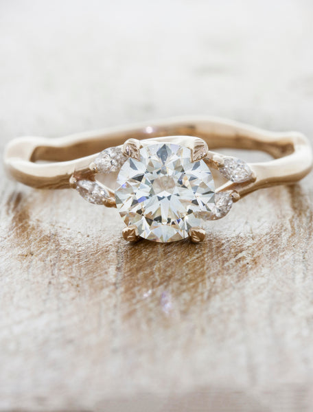 caption:Shown in 14k rose gold with 0.50ct diamond option