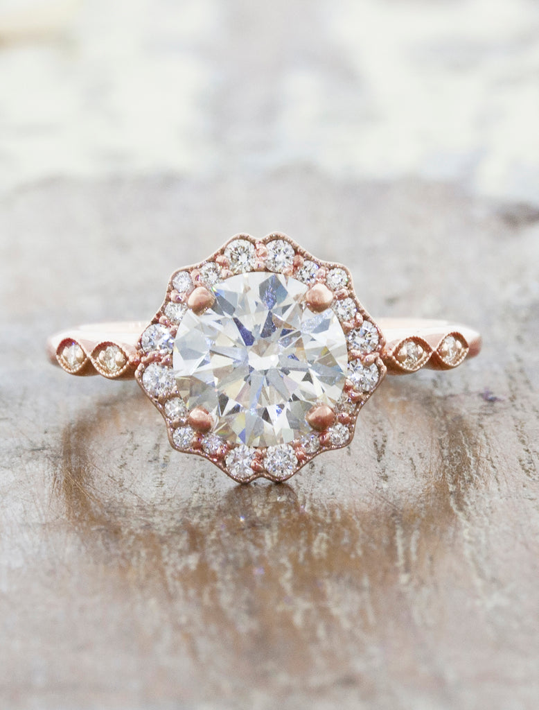 caption:1.50ct. Round Diamond 14k Rose Gold