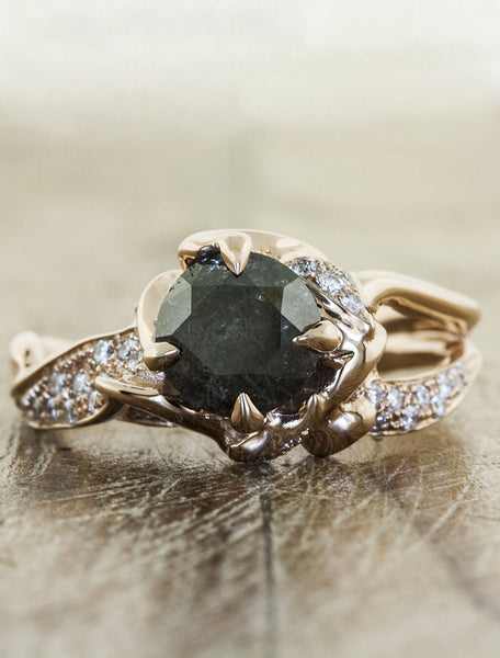 Nature inspired engagement ring - Sundara - Ken & Dana Design