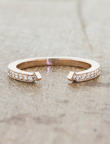 Cuff Wedding Band