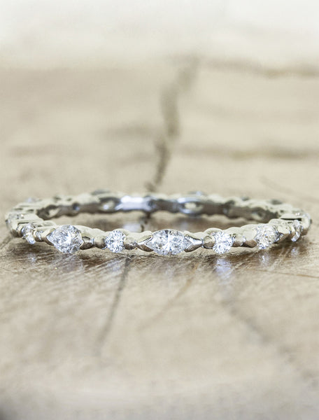 Marquis Diamond wedding Band