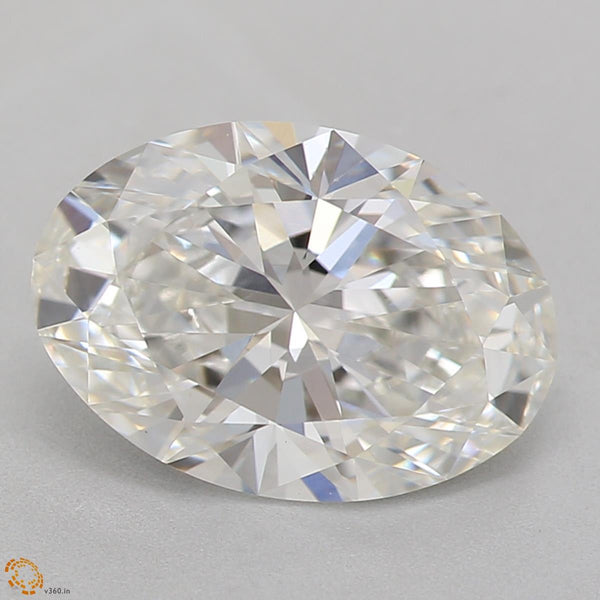 2.11 Carat Oval Lab Grown Diamond