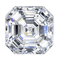 2.05 Carat Asscher Lab Grown Diamond