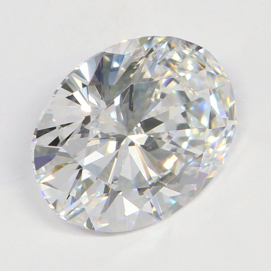 2.08 Carat Oval Lab Grown Diamond