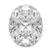 0.96 Carat Oval Lab Grown Diamond
