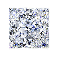 1.41 Carat Princess Lab Grown Diamond