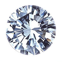 0.73 Carat Round Lab Grown Diamond
