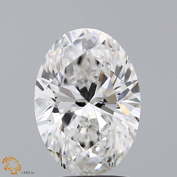 1.73 Carat Oval Lab Grown Diamond