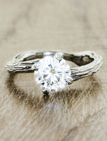 laurel laurel - Nature Inspired Wedding Rings