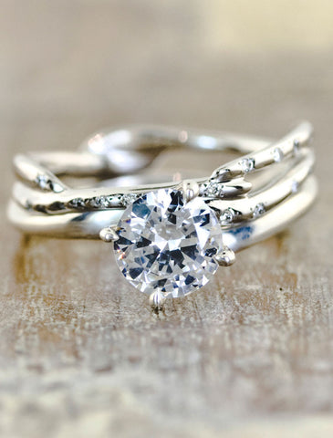 diamond engagement unique jewelry for beauty by women jewellery rings blooming