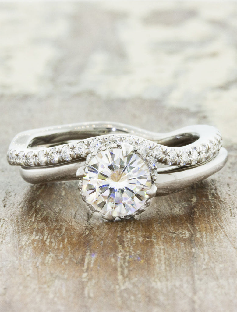 and match rings engagement gallery new ring wedding of pertaining curved mix your photo attachment fit bands vintage to