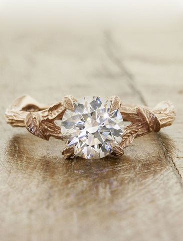 leaf wedding listing and il diamond kijani rings engagement set jyye natural twig