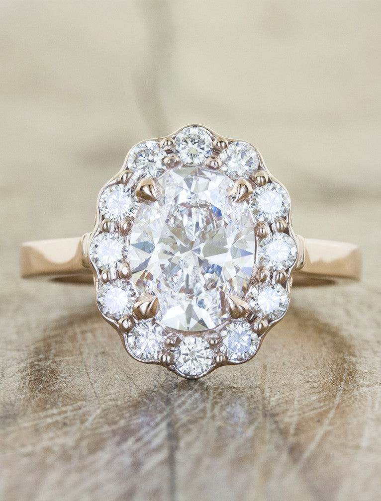 caption:Shown with 1.2ct diamond option