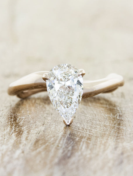 diamond pear me rings weddingbee justanother engagement platum wedding