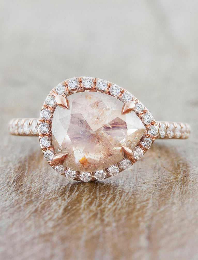 Audrix Rustic Light Pink Diamond