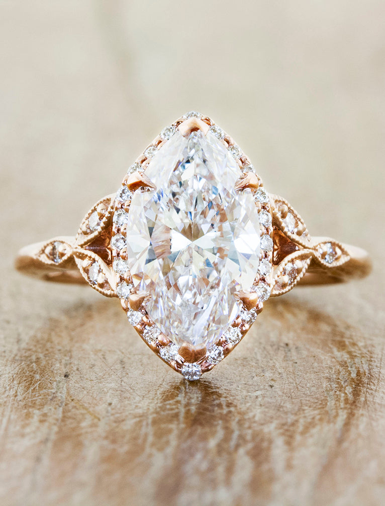 caption:Shown with a 2ct marquise diamond