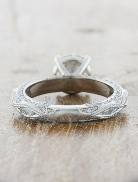 Vintage Inspired Engagement Ring