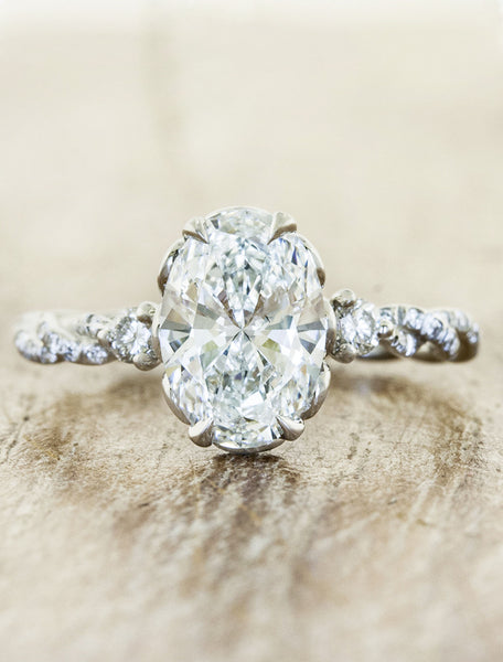 Shanel caption:1.75ct. Oval Diamond Platinum