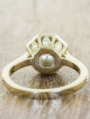 jane jane - Vintage Inspired Wedding Rings