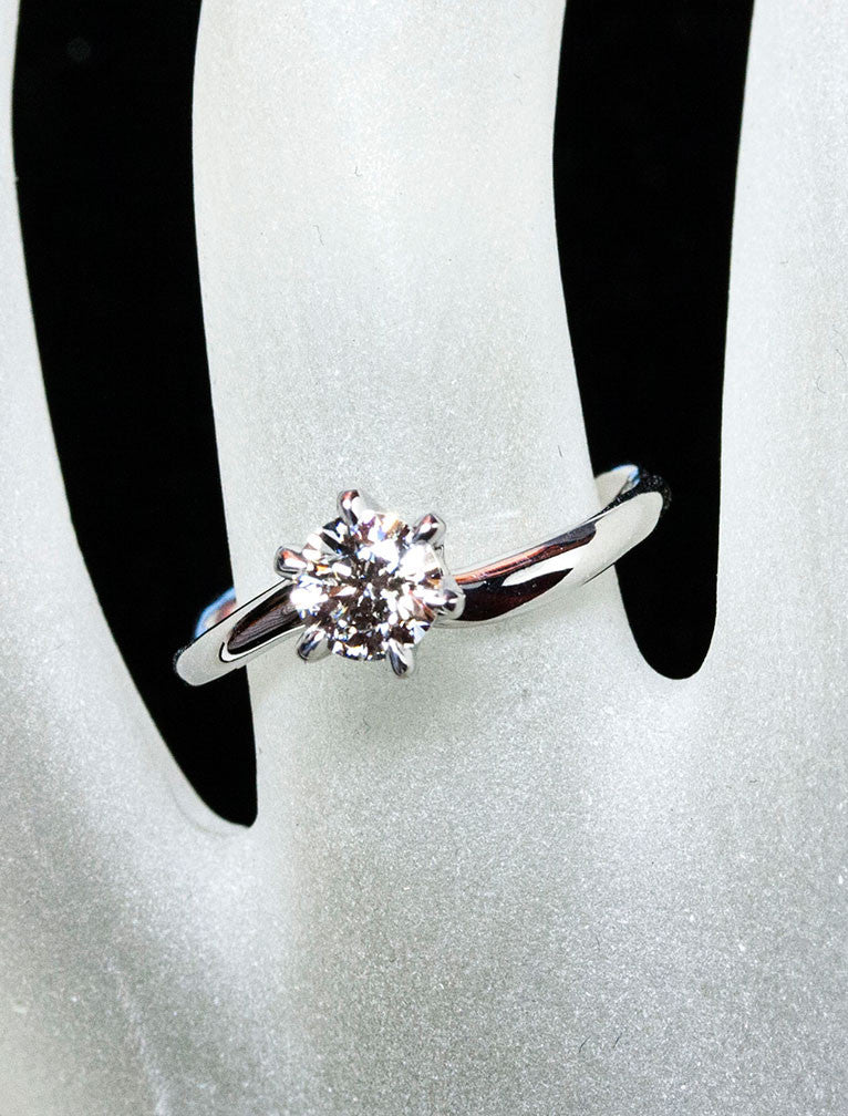 Diamond engagement ring - Aurora 6-Prong