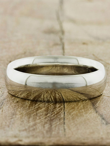 Men's Wedding Bands by Ken & Dana Design
