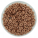 O Beads 1x4mm Vintage Copper