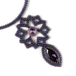 Beading Kit Ketting Star Pendant Kleur: Rainbow Sugar Plum