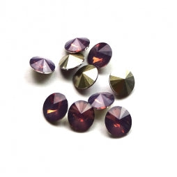 Resin Rivoli 8mm Purple