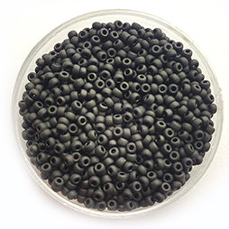 11-401F Black Matted Frosted (per 10 gram)