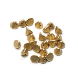 Button Beads 4mm Aztec Gold