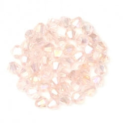 Bicone Beads 3mm Lt Pink AB