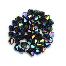 Bicone Beads 4mm Oil