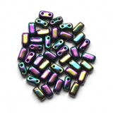 CzechMates Bricks 3/6mm Iris Purple