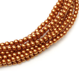 Glasparel 3mm Copper (per 44mm Streng)