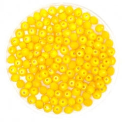 Facet Rondellen 3x2mm Yellow