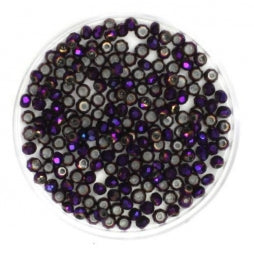 Facet Rondellen 2.5x2mm Full Purple Plated