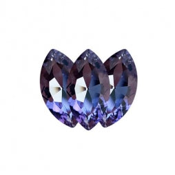 Fancy Stone Navette Eye 18x9mm Violet
