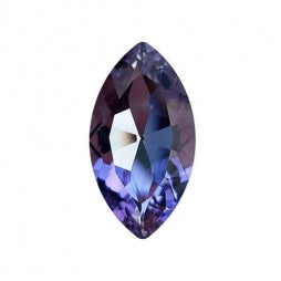 Fancy Stone Navette Eye 32x17mm Violet