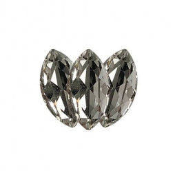 Fancy Stone Navette Eye 18x9mm Crystal