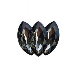 Fancy Stone Navette Eye 18x9mm Black Diamond