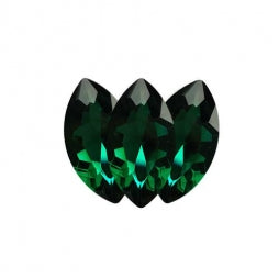 Fancy Stone Navette Eye 18x9mm Zircon