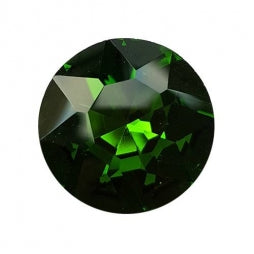 Fancy Stone Round 27mm Grass Green