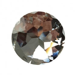 Fancy Stone Round 27mm Crystal
