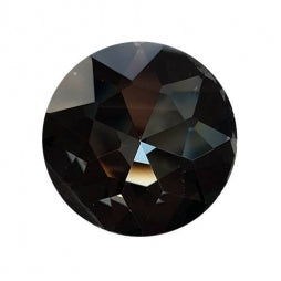 Fancy Stone Round 27mm Black Diamond