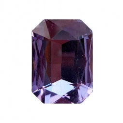 Fancy Stone Rectangle 13x18mm Violet