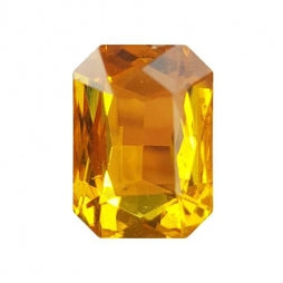 Fancy Stone Rectangle 13x18mm Topaz