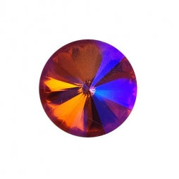 Fancy Stone Rivoli 18mm Orange AB