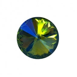 Fancy Stone Rivoli 18mm Peridot AB