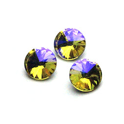 Fancy Stone Rivoli 14mm Light Yellow AB